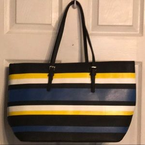 Handbags - NWOT, Women's Striped Multiple Colored Handbag